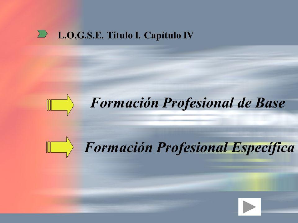 Formación Profesional de Base