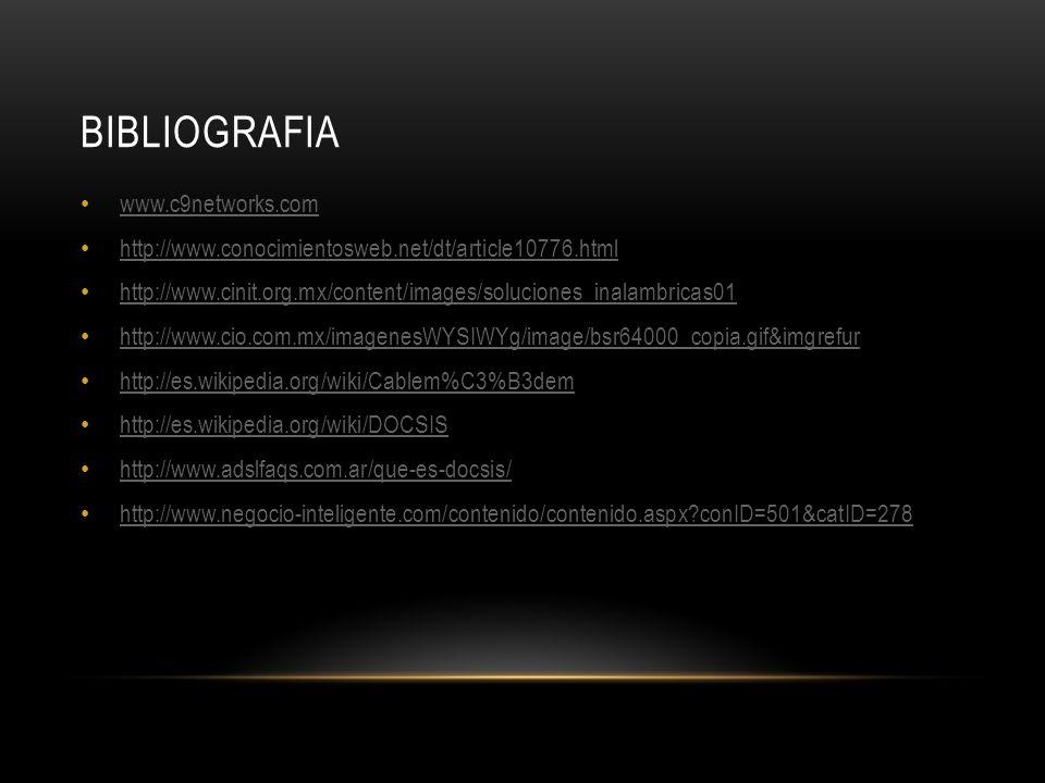 bibliografia www.c9networks.com