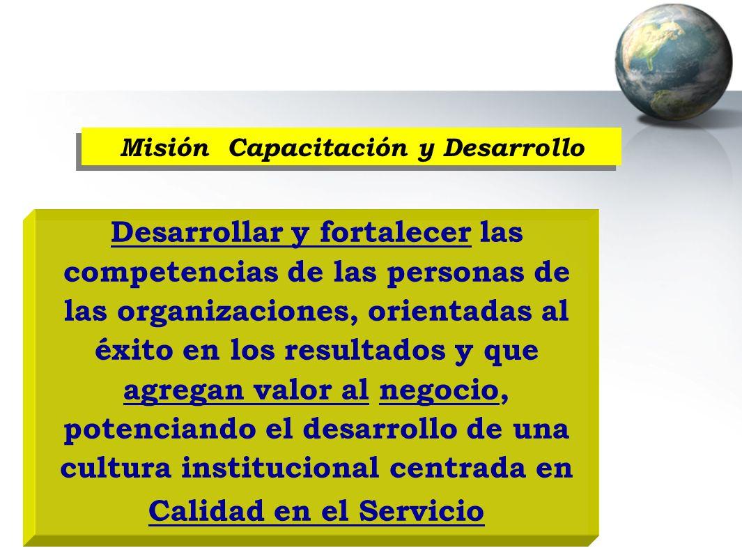 Misión Capacitación y Desarrollo