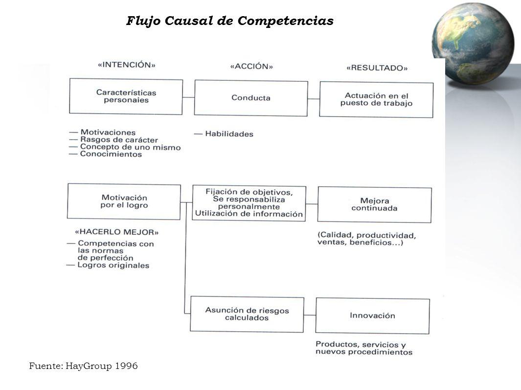 Flujo Causal de Competencias