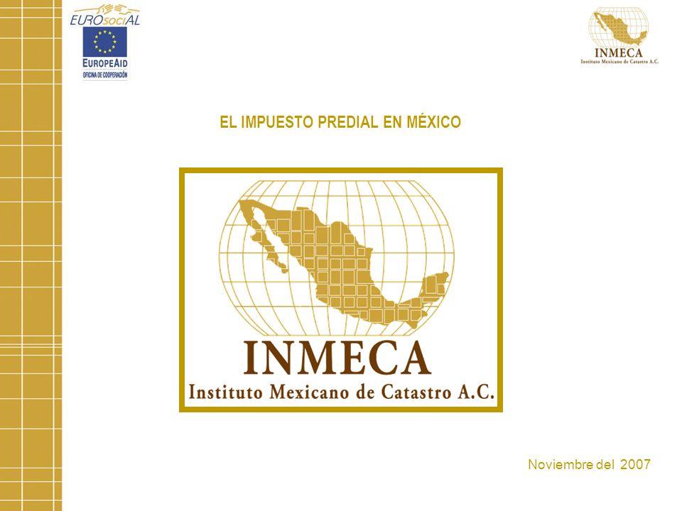 EL IMPUESTO PREDIAL EN MÉXICO