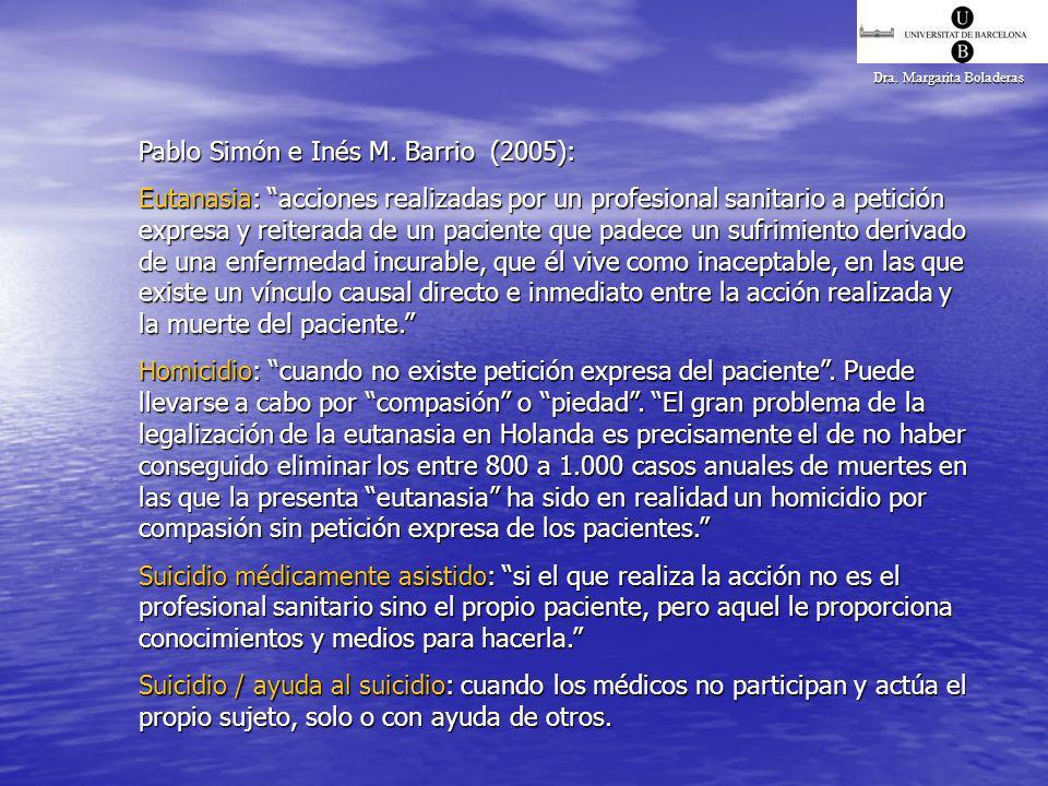 Pablo Simón e Inés M. Barrio (2005):