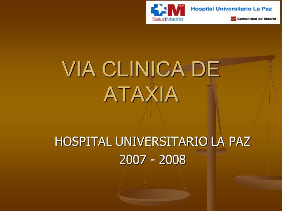 HOSPITAL UNIVERSITARIO LA PAZ 2007 - 2008
