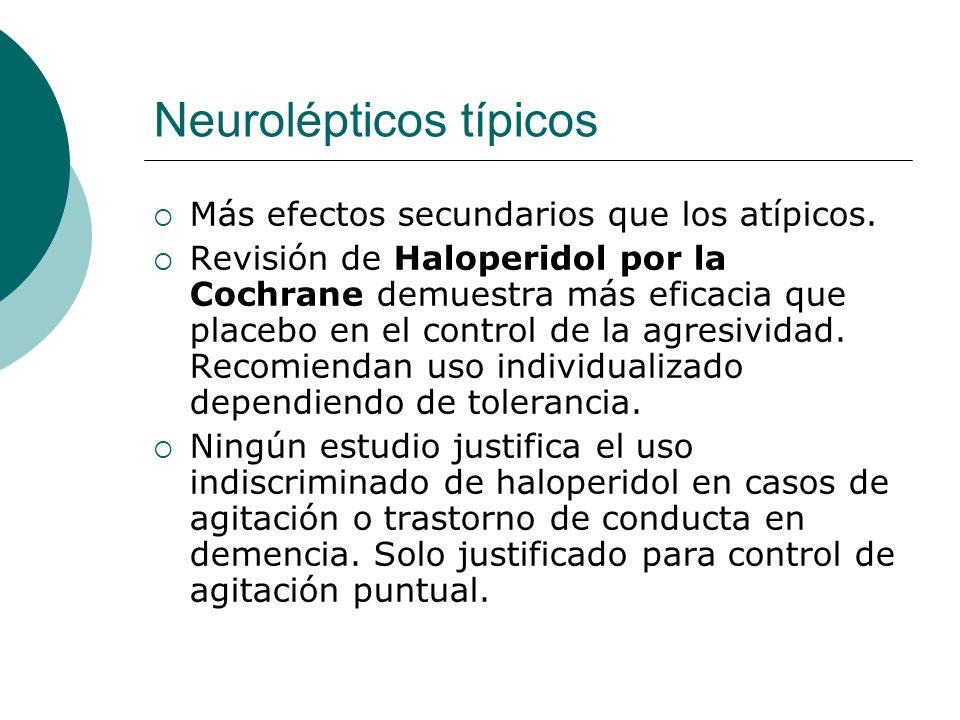Neurolépticos típicos
