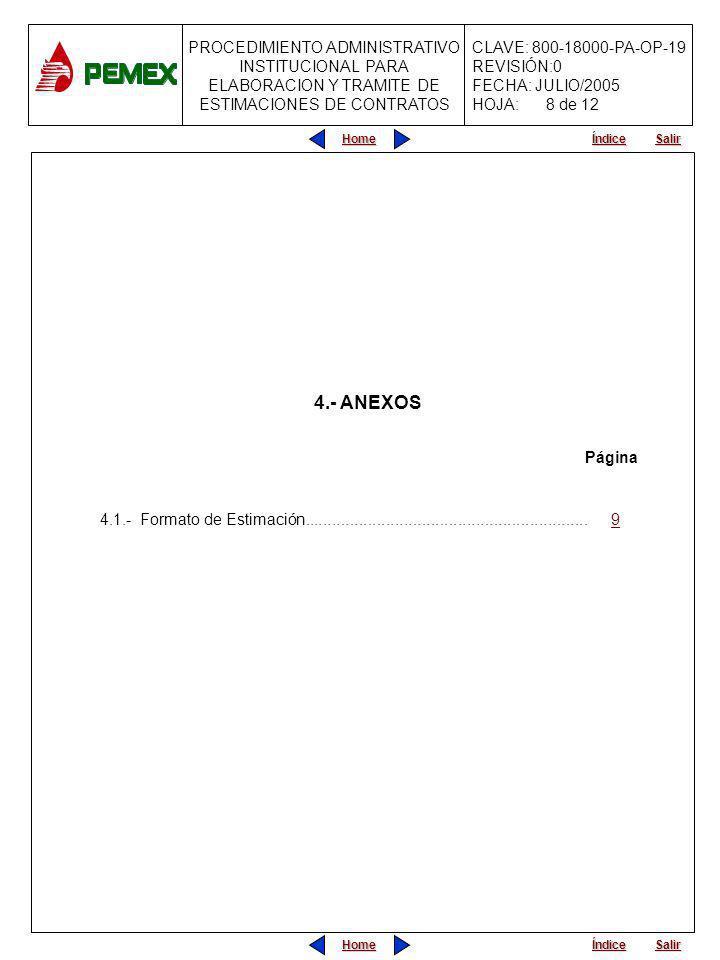 8 de 12 4.- ANEXOS. Página.