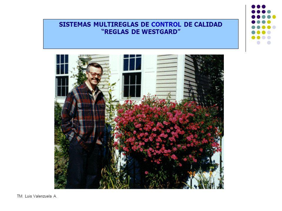SISTEMAS MULTIREGLAS DE CONTROL DE CALIDAD