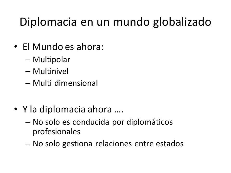 Diplomacia en un mundo globalizado