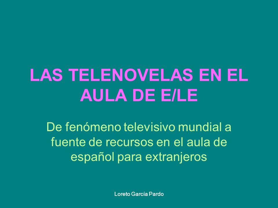 LAS TELENOVELAS EN EL AULA DE E/LE