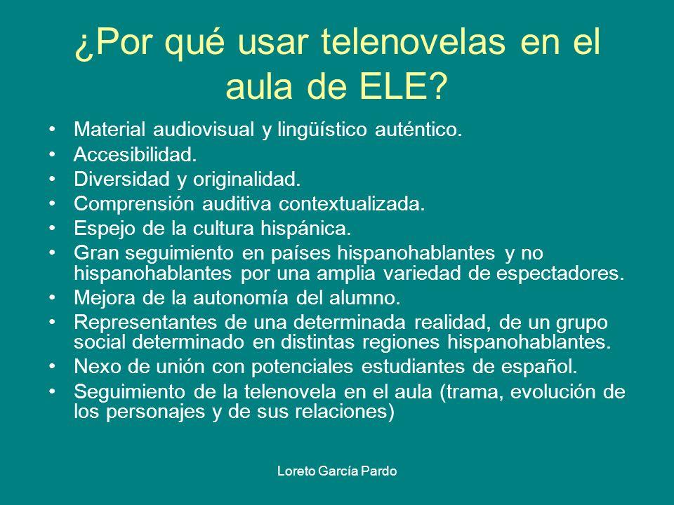 ¿Por qué usar telenovelas en el aula de ELE