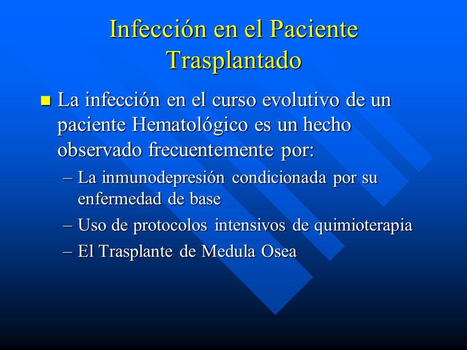 Infección en el Paciente Trasplantado