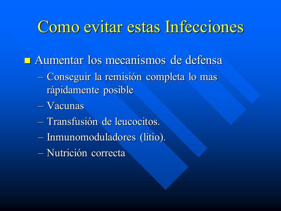 Como evitar estas Infecciones
