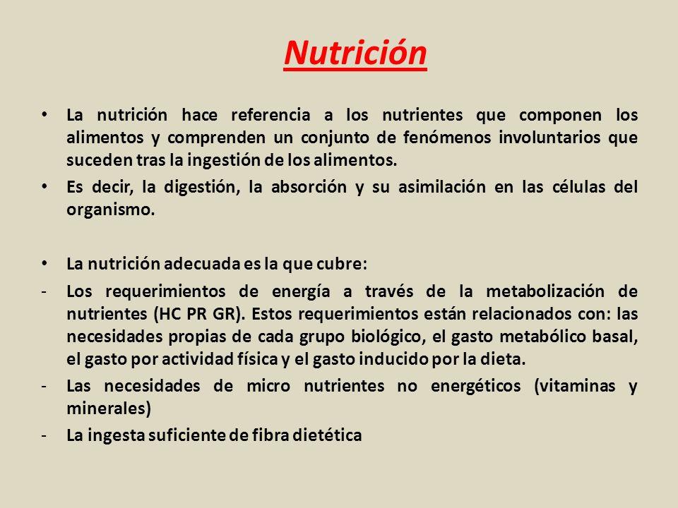 Nutrición