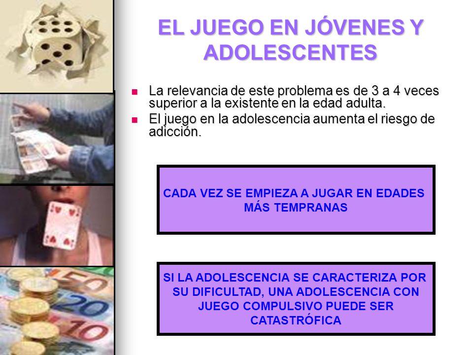 EL JUEGO EN JÓVENES Y ADOLESCENTES