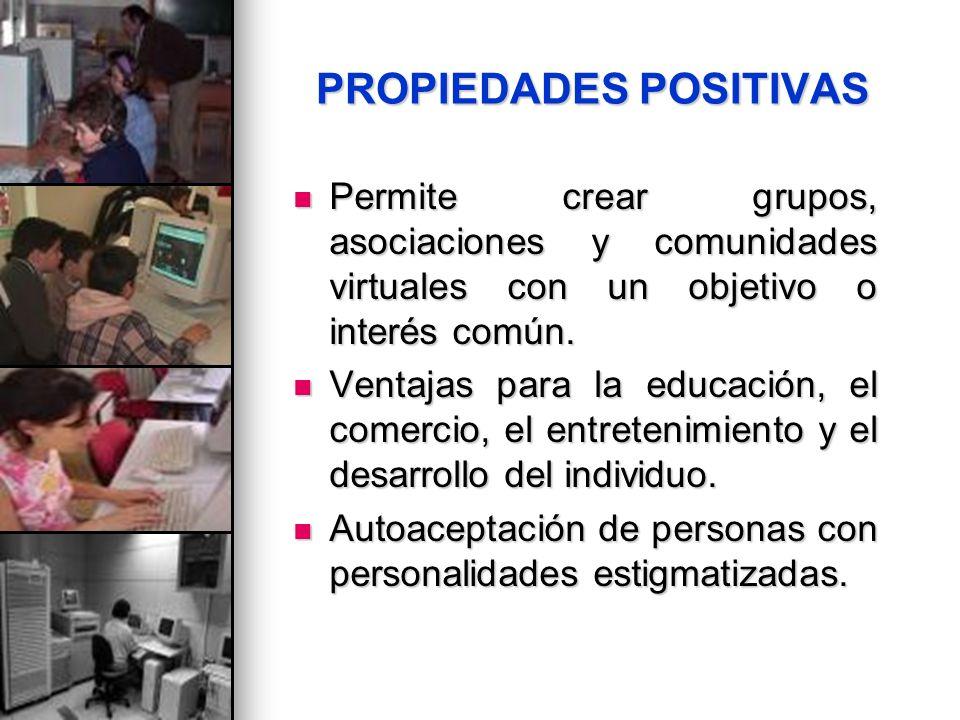 PROPIEDADES POSITIVAS