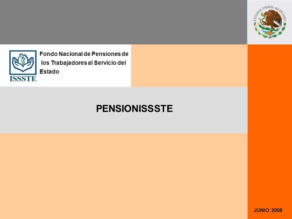 PENSIONISSSTE Fondo Nacional de Pensiones de