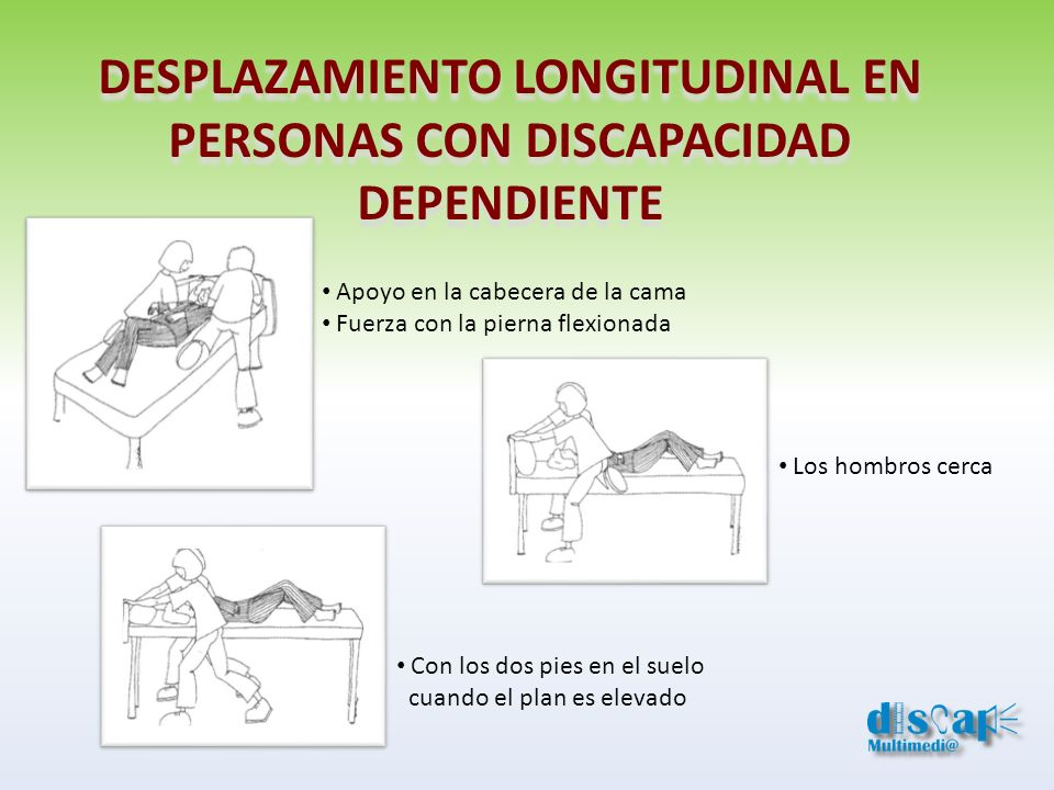 DESPLAZAMIENTO LONGITUDINAL EN PERSONAS CON DISCAPACIDAD DEPENDIENTE