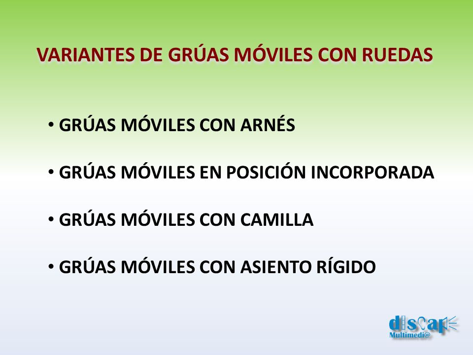VARIANTES DE GRÚAS MÓVILES CON RUEDAS