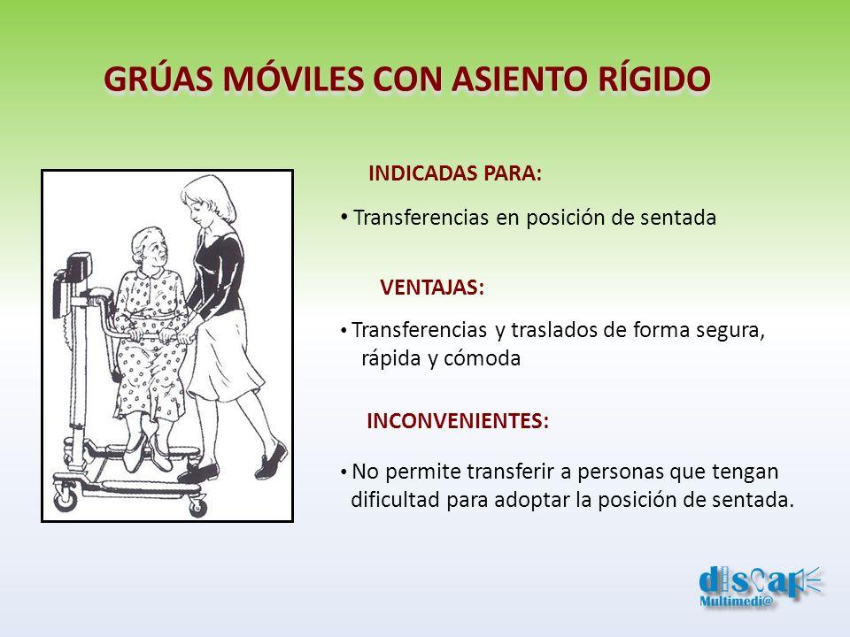 GRÚAS MÓVILES CON ASIENTO RÍGIDO