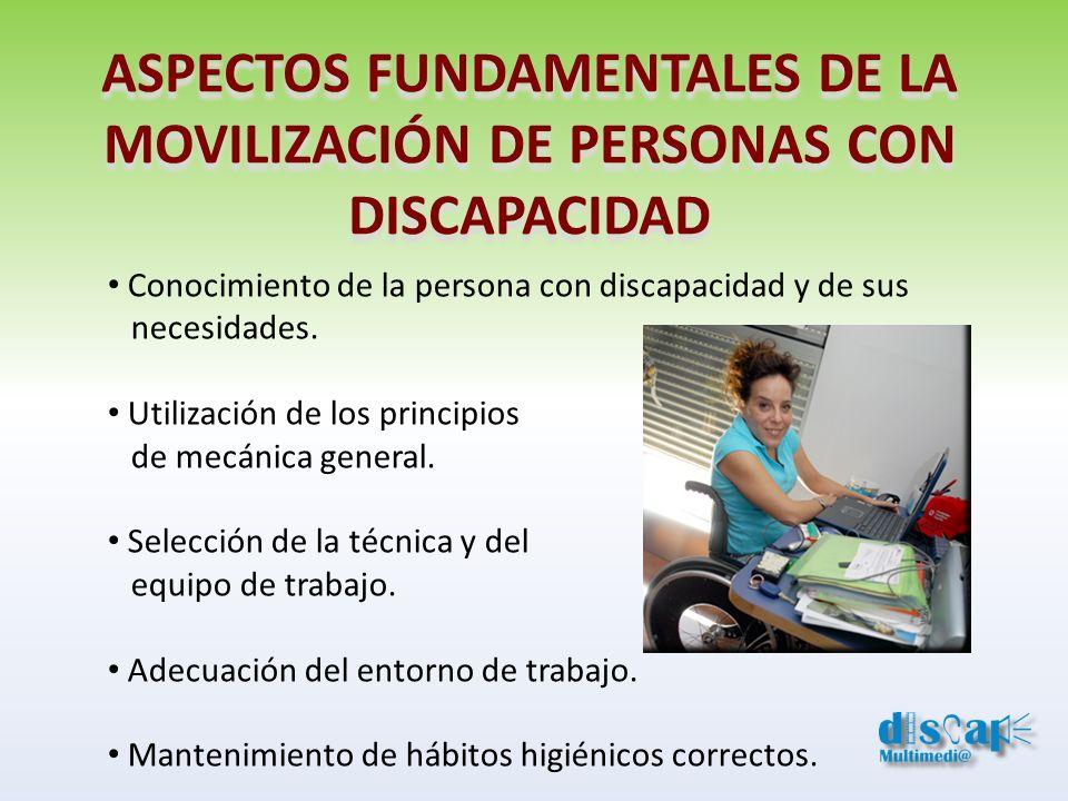 ASPECTOS FUNDAMENTALES DE LA MOVILIZACIÓN DE PERSONAS CON DISCAPACIDAD