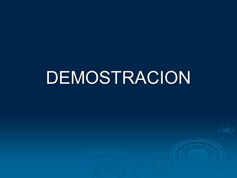 DEMOSTRACION