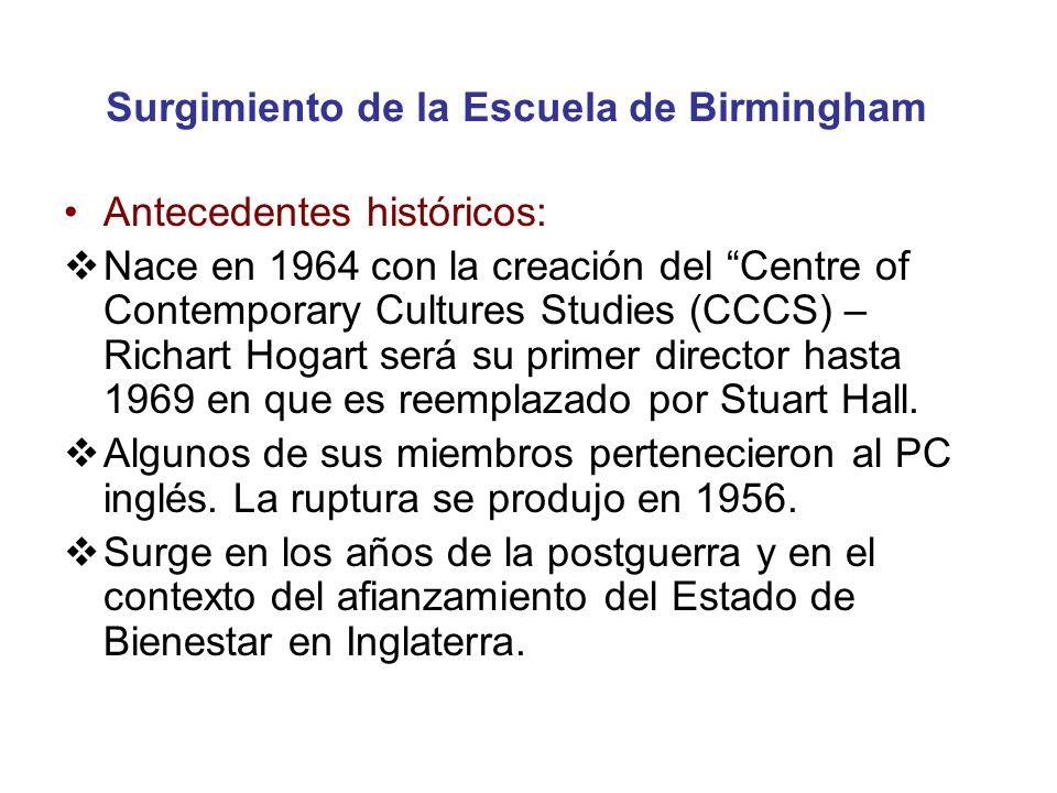 Surgimiento de la Escuela de Birmingham