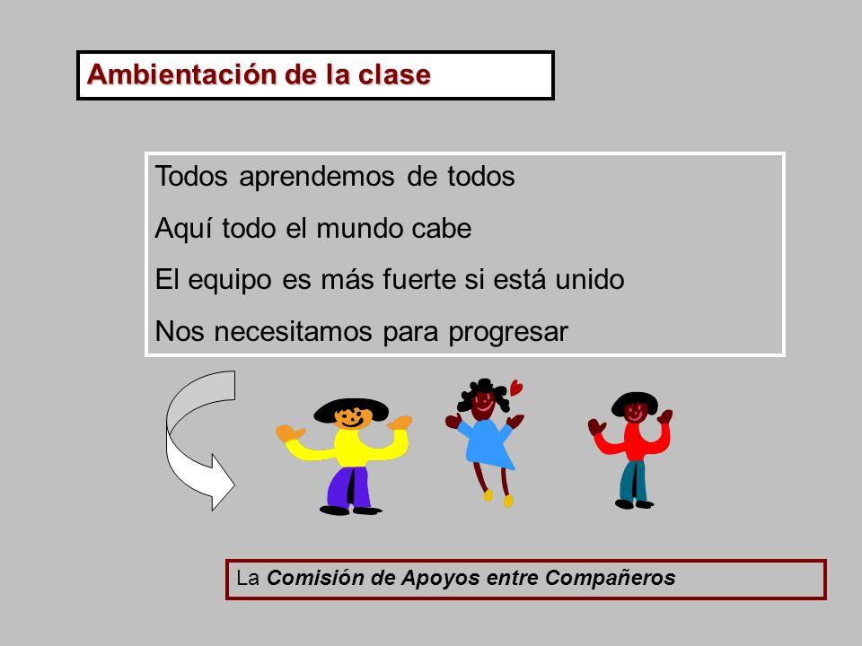 Ambientación de la clase