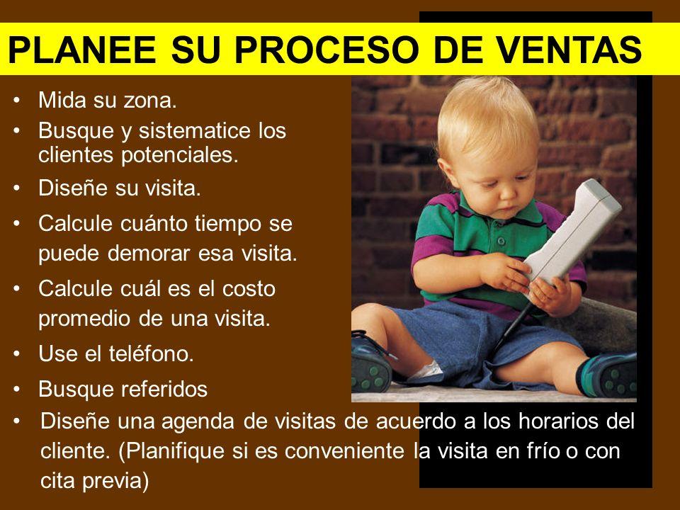 PLANEE SU PROCESO DE VENTAS