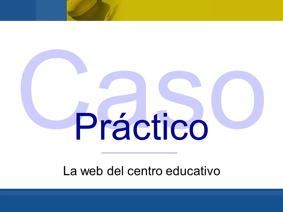 La web del centro educativo