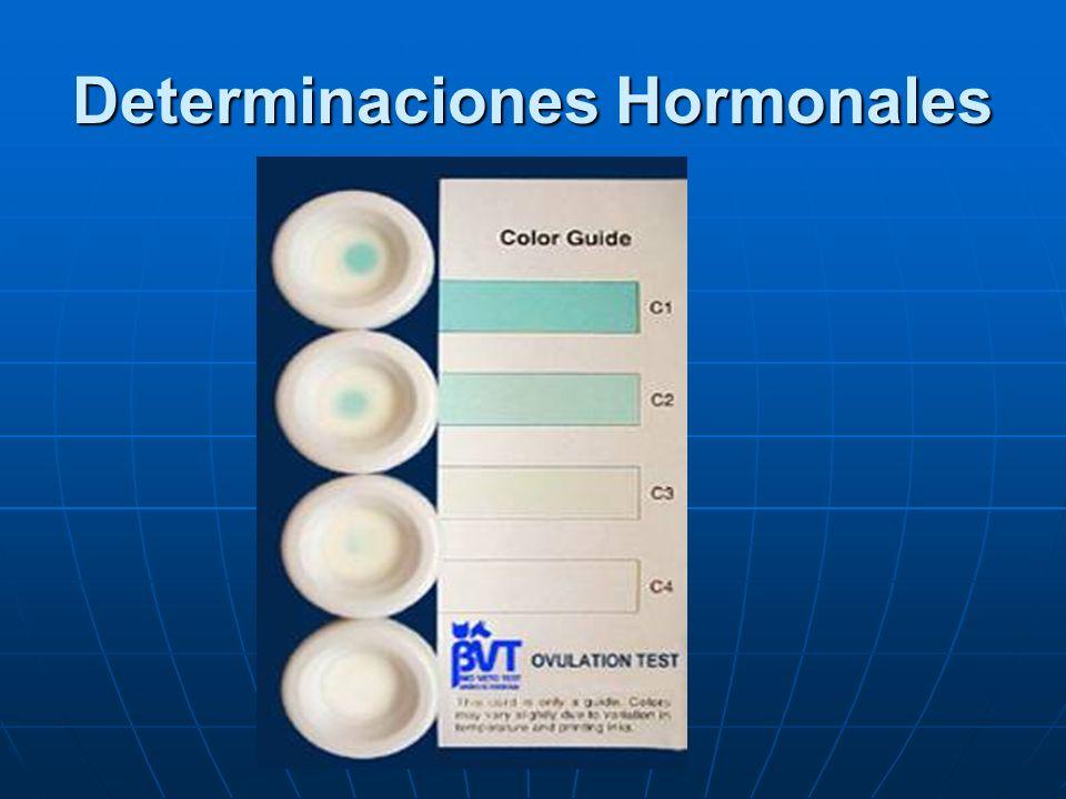Determinaciones Hormonales