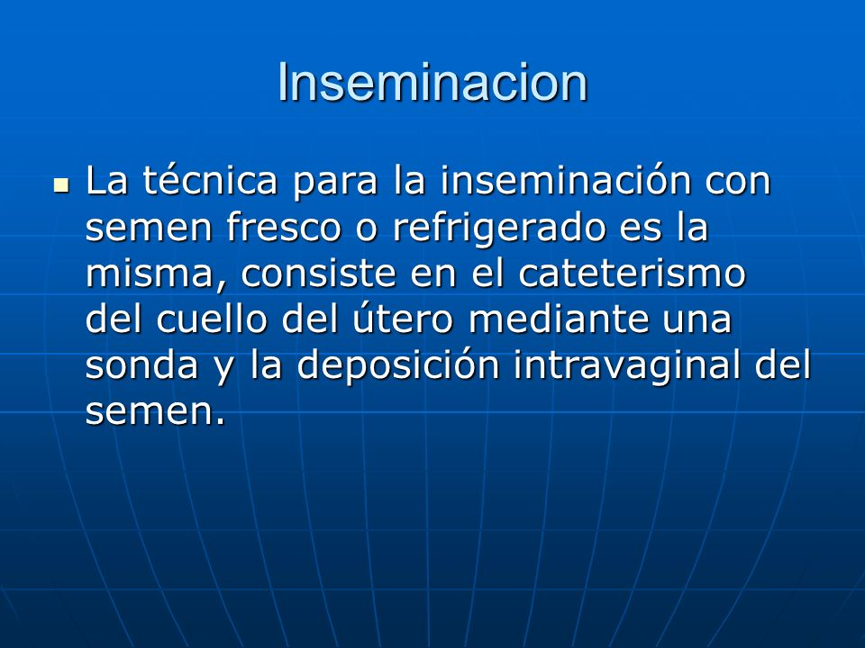 Inseminacion