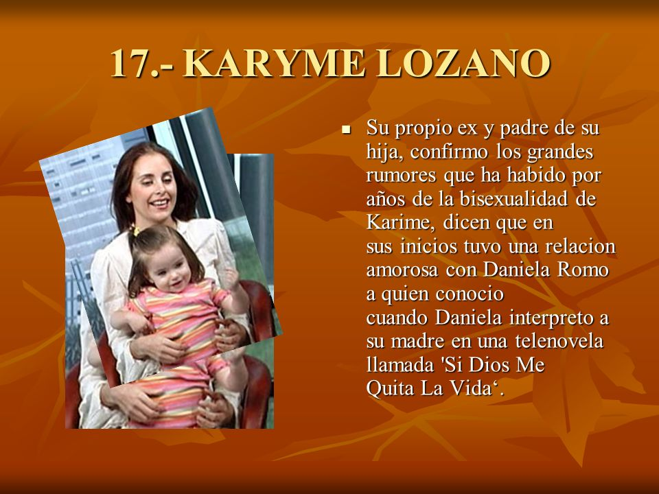 17.- KARYME LOZANO