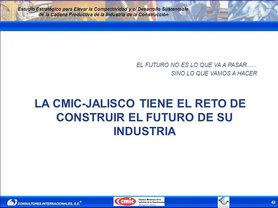 LA CMIC-JALISCO TIENE EL RETO DE CONSTRUIR EL FUTURO DE SU INDUSTRIA