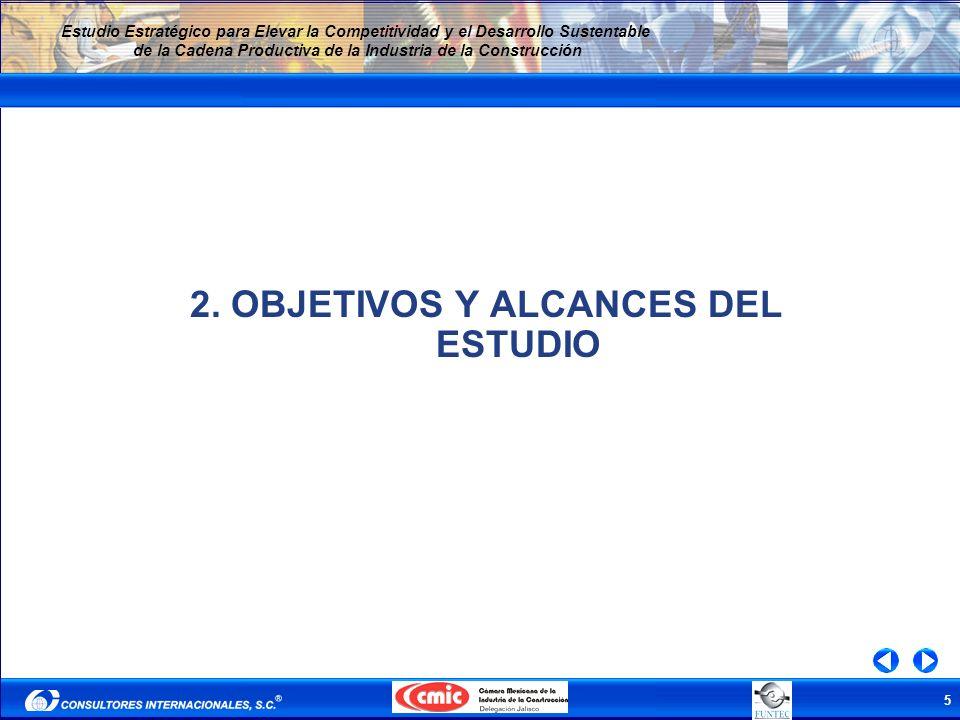 2. OBJETIVOS Y ALCANCES DEL ESTUDIO