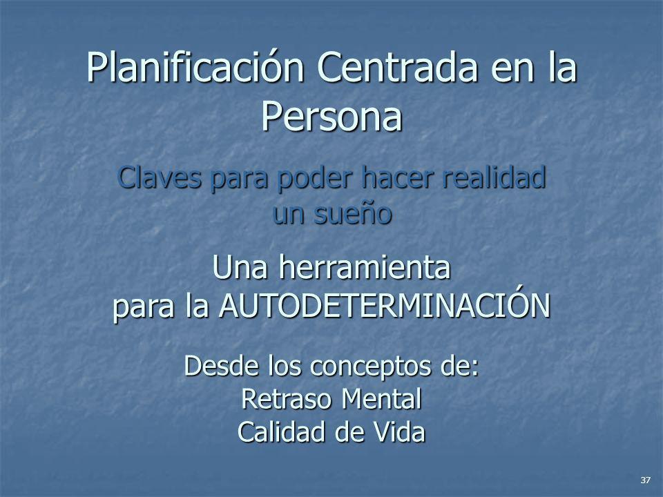 Planificación Centrada en la Persona