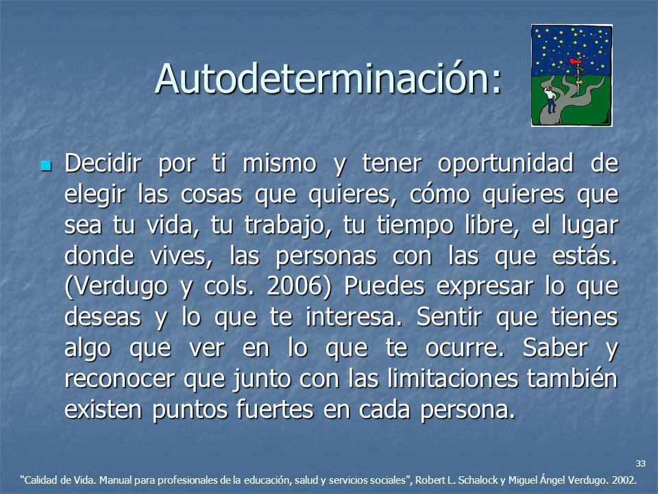 Autodeterminación: