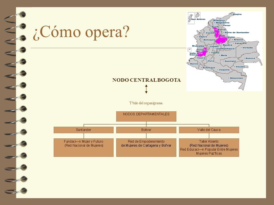 ¿Cómo opera NODO CENTRAL BOGOTA