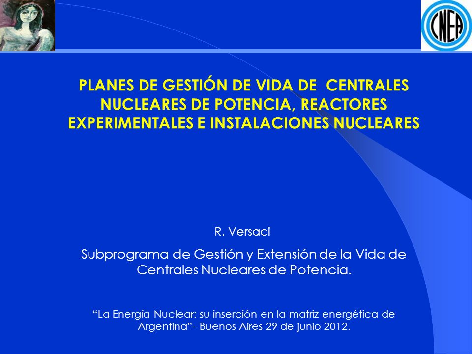 PLANES DE GESTIÓN DE VIDA DE CENTRALES NUCLEARES DE POTENCIA, REACTORES EXPERIMENTALES E INSTALACIONES NUCLEARES