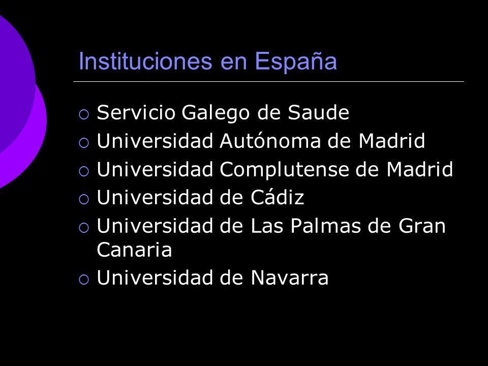 Instituciones en España