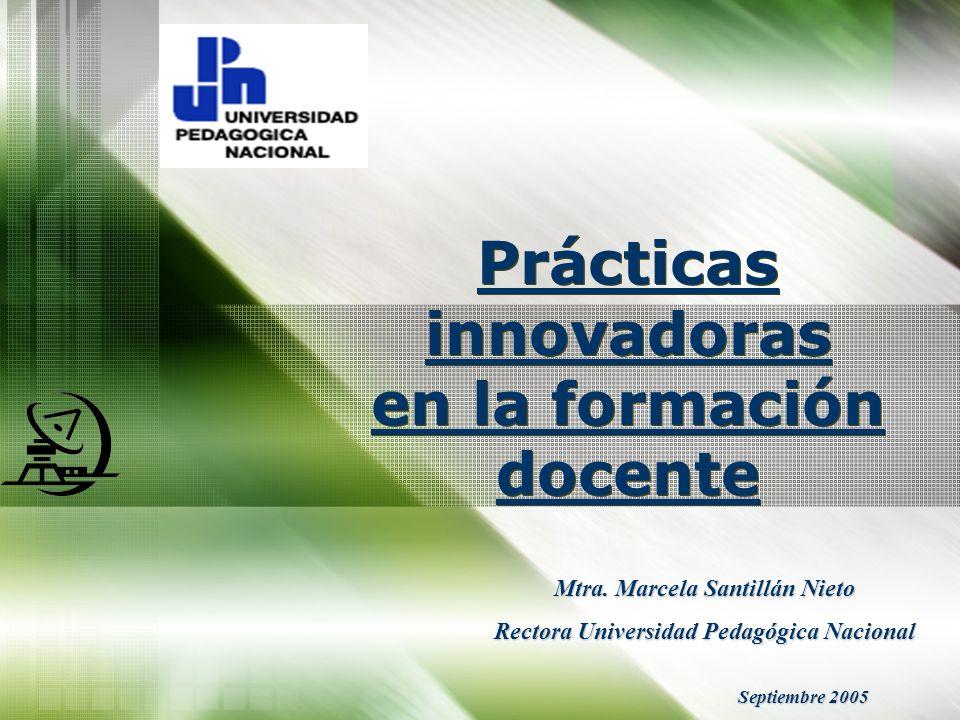 Prácticas innovadoras en la formación docente