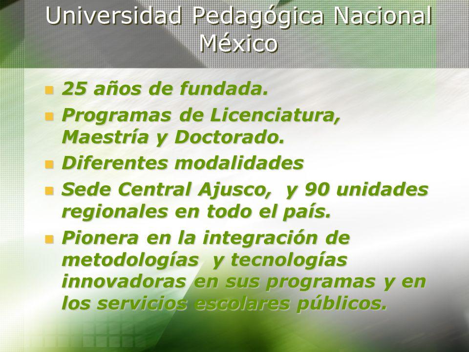 Universidad Pedagógica Nacional México