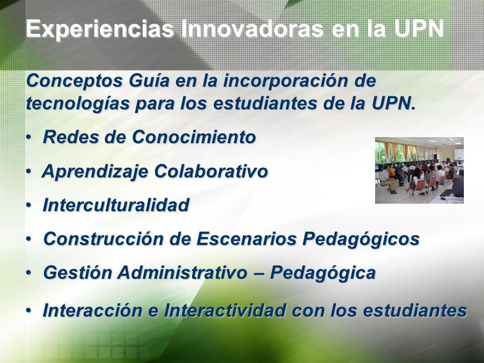 Experiencias Innovadoras en la UPN