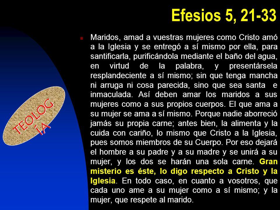 Efesios 5, 21-33