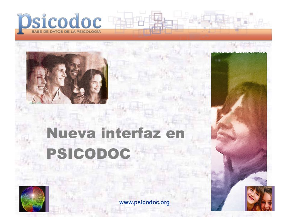 Nueva interfaz en PSICODOC