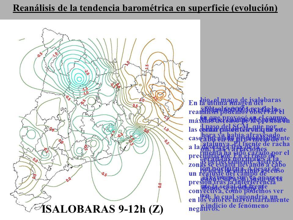 ISALOBARAS 9-12h (Z) ISALOBARAS 3-6h(Z) ISALOBARAS 6-9h (Z)