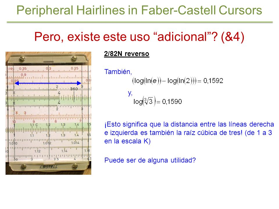 Peripheral Hairlines in Faber-Castell Cursors