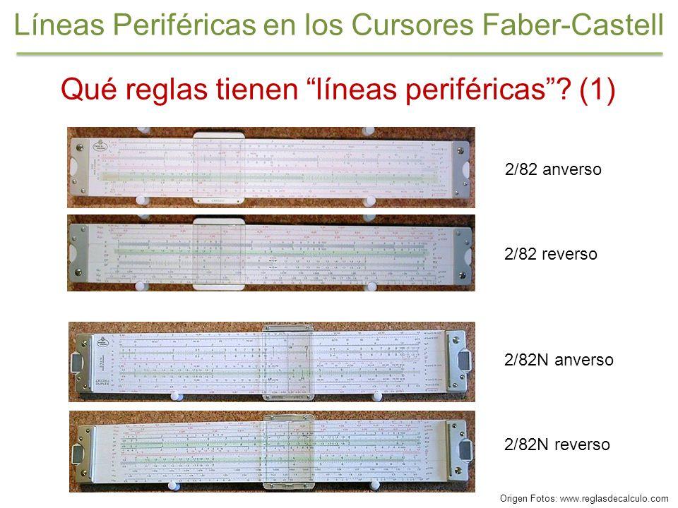 Líneas Periféricas en los Cursores Faber-Castell