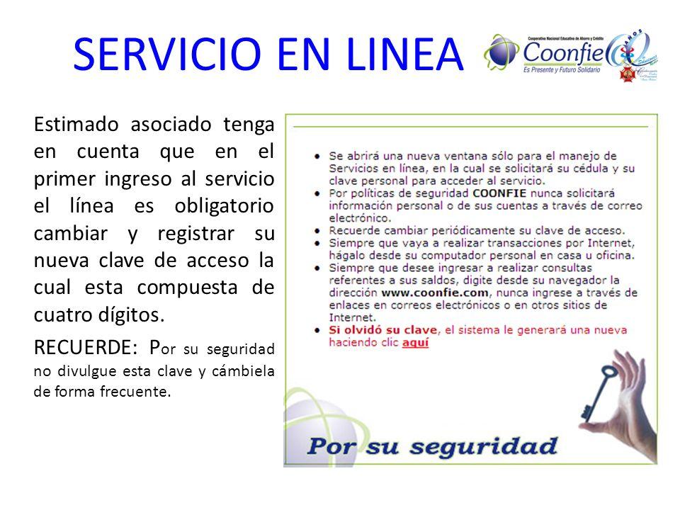 SERVICIO EN LINEA