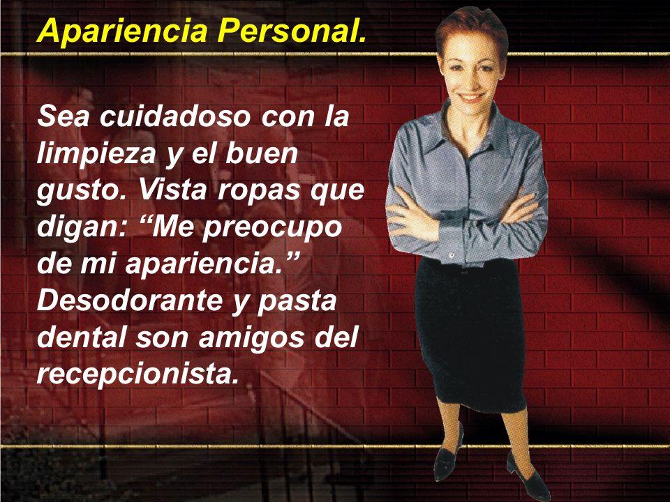 Apariencia Personal.