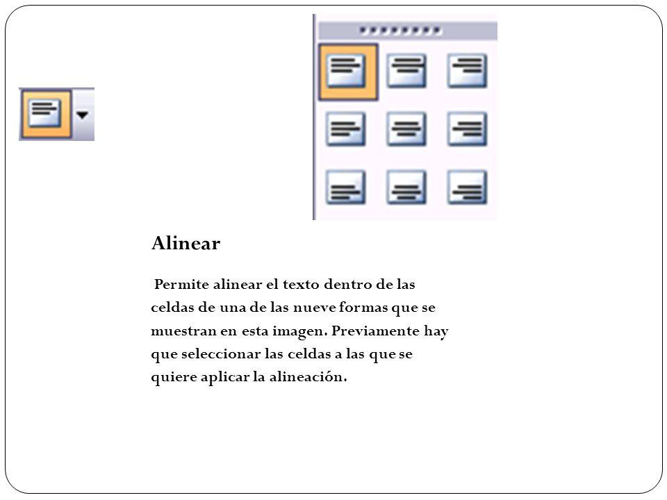 Alinear