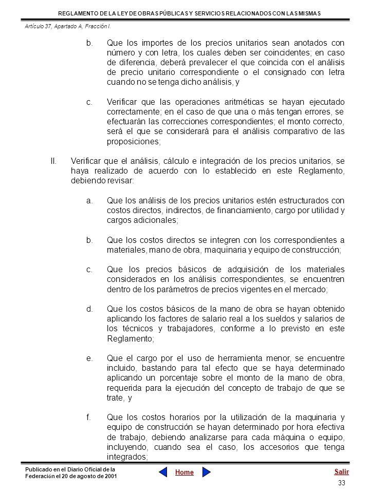 Artículo 37, Apartado A, Fracción I.